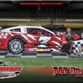 <p>Josh won both the heat race and the feature at Bronson Speedway.</p>