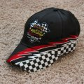 <p><strong>Checkered Flag Cap with Logo  $10.00<br />Checkered Flag Cap with Logo and Name  $12.00<br /></strong></p>