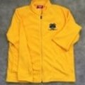 <p><strong>Yellow Fleece Jacket with Logo and Embroidered Name<br />(name not shown above)</strong></p> <p><strong>Full-zip front, two pockets.<br /></strong></p> <p><strong>S-XL $40.00</strong><br /><strong>2XL $42.00<br />3XL </strong><strong>$43.00</strong></p>